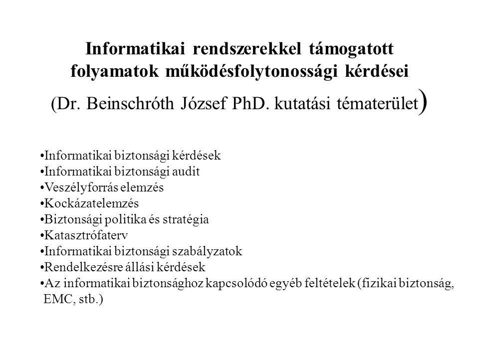 Kún Gergely: Felhasználói elégedettségvizsgálatok IP hálózatokban (PhD.