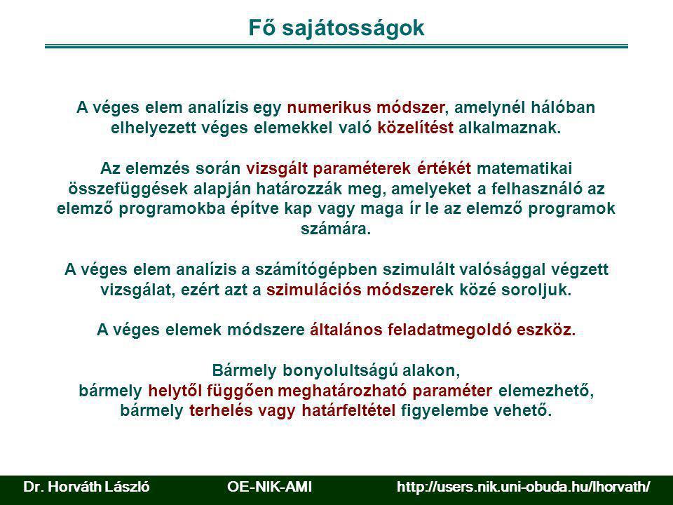 FEM/FEA példa Forrás: www.catia.com Dr.