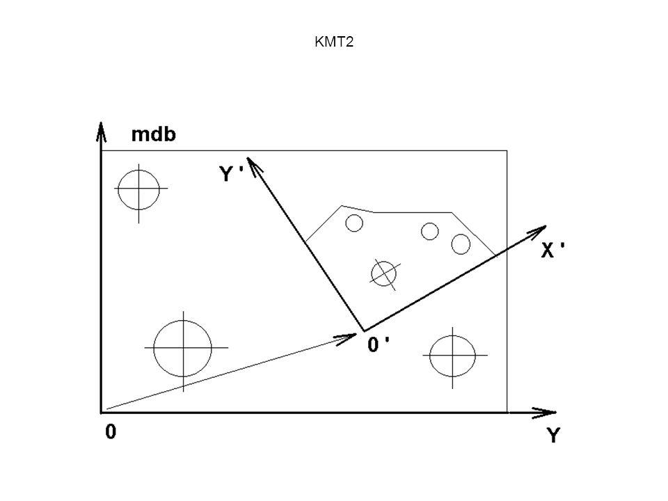 KMT2 A mérés előkészítése - A feladat elemzése - A dokumentáció tanulmányozása (koordináta rendszer megállapítása, a felfogási terv elkészítése, a tapintóigény megállapítása, az elemek mérési sorrendjének a megállapítása - A szükséges tapintók összeállítása - A felfogó készülékkel kapcsolatos teendők - A TAPINTÓK ÖSSZEKALIBRÁLÁSA