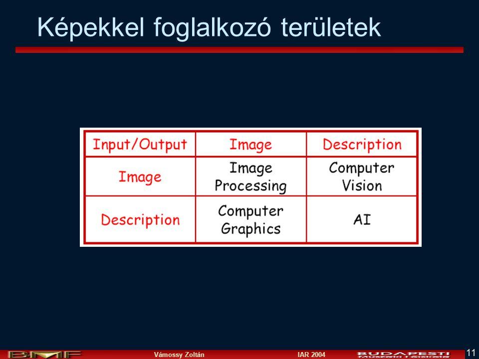 Vámossy Zoltán IAR 2004 11 Képekkel foglalkozó területek
