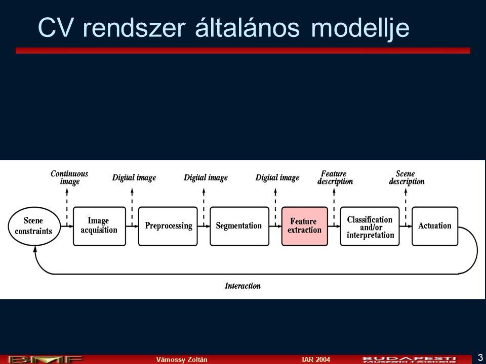 Vámossy Zoltán IAR 2004 3 CV rendszer általános modellje