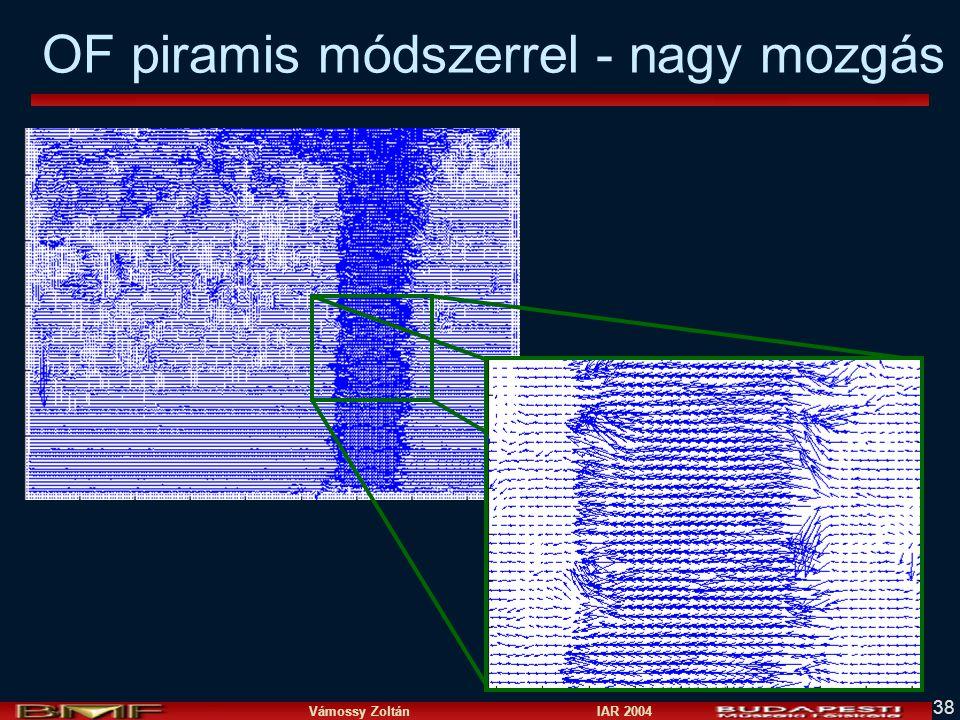 Vámossy Zoltán IAR 2004 38 OF piramis módszerrel - nagy mozgás