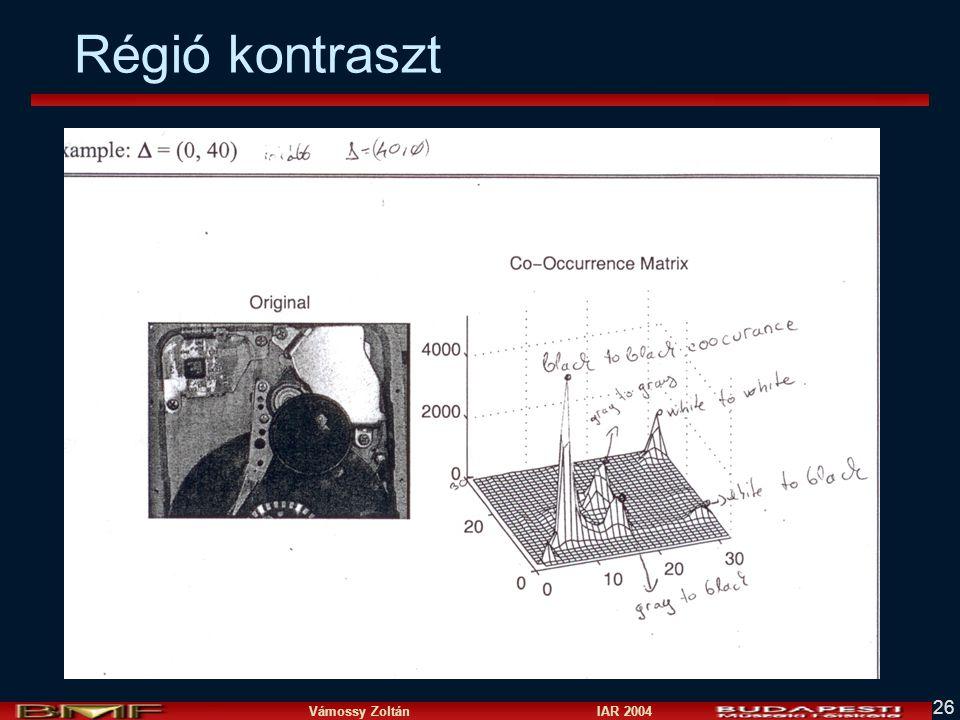 Vámossy Zoltán IAR 2004 26 Régió kontraszt