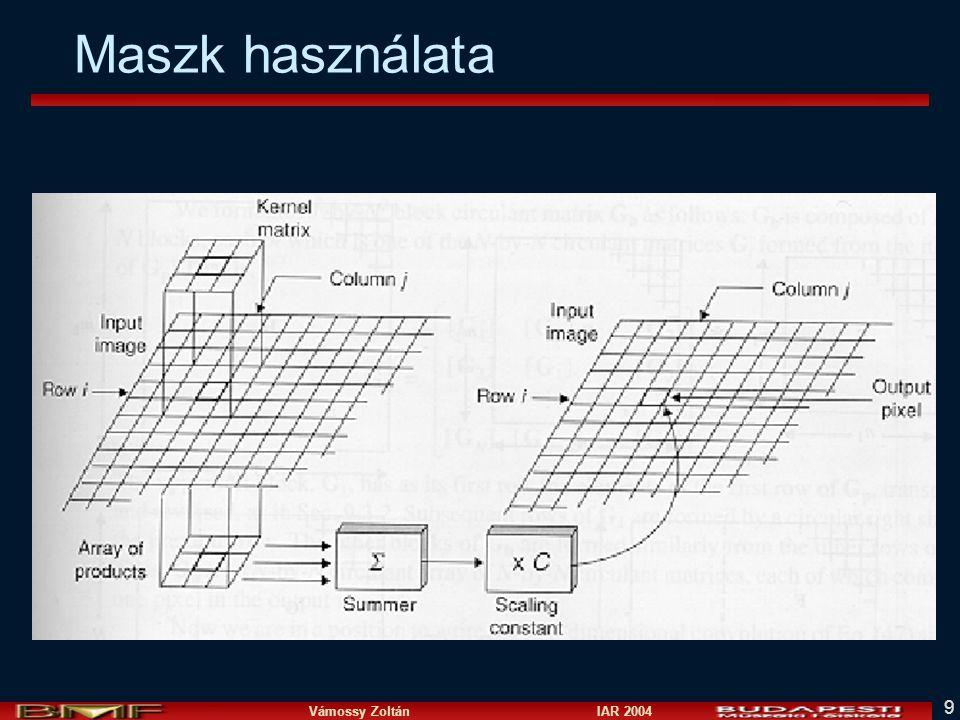 Vámossy Zoltán IAR 2004 9 Maszk használata