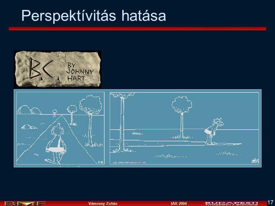 Vámossy Zoltán IAR 2004 17 Perspektívitás hatása