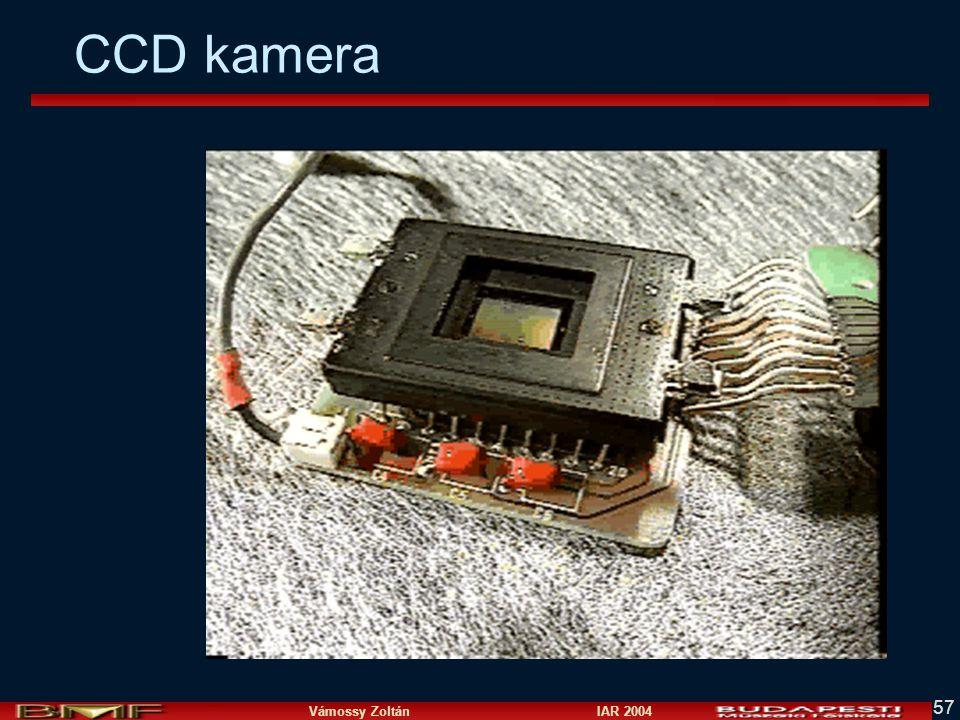 Vámossy Zoltán IAR 2004 57 CCD kamera