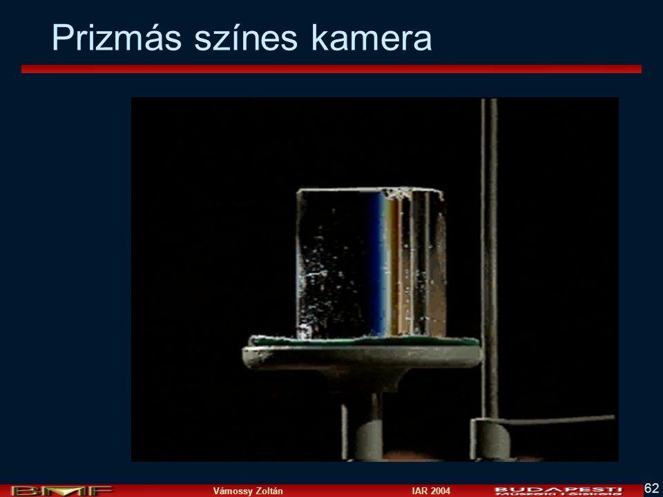 Vámossy Zoltán IAR 2004 62 Prizmás színes kamera