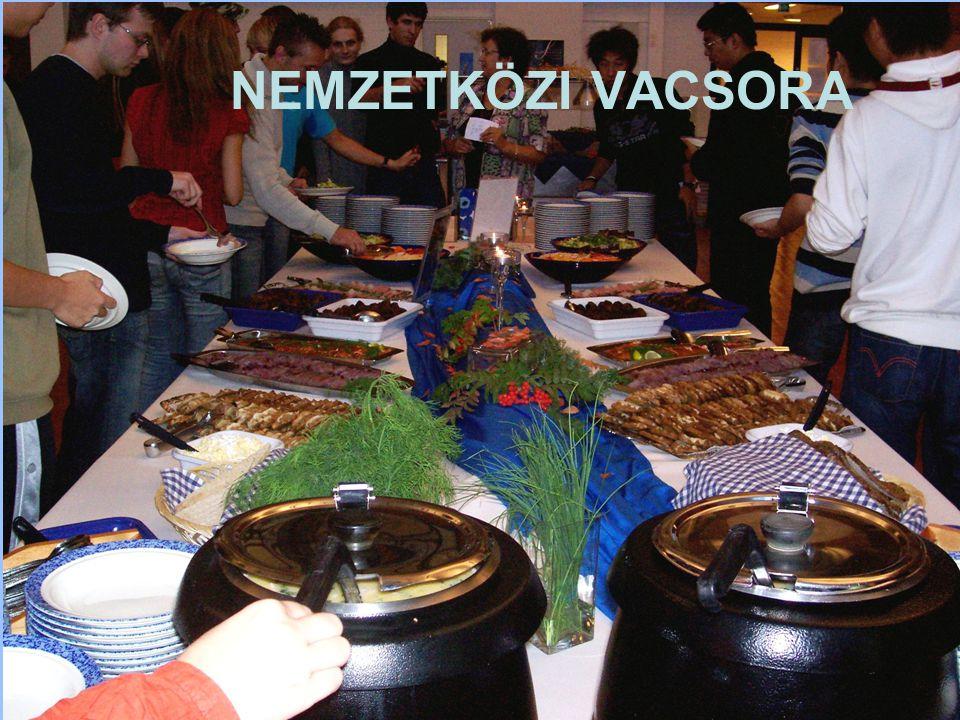 7/20/2014 ERASMUS - szabo.zsolt@nik.uni-obuda.hu 18/31 NEMZETKÖZI VACSORA