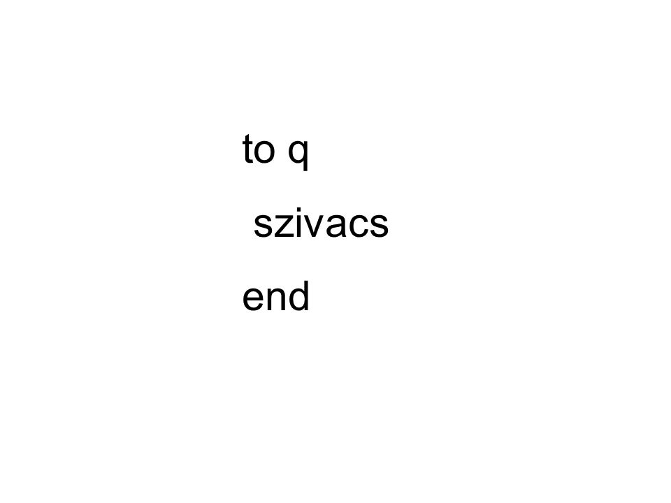 to q szivacs end