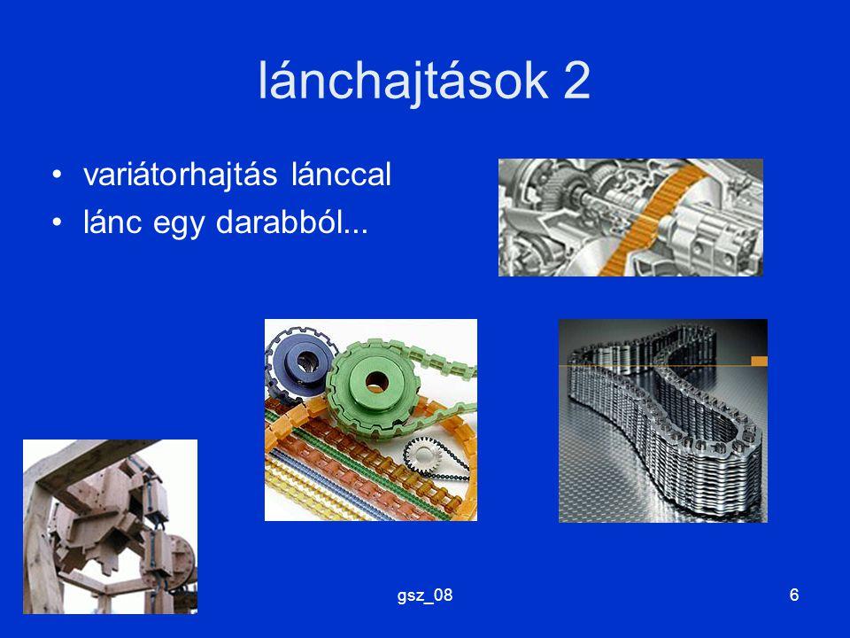gsz_087 (hajlékony) vonóelemek kötél heveder (szíj) lánc