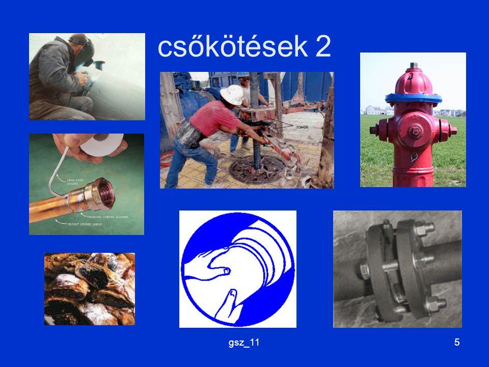 gsz_116 csőanyagok szilárdság, alakíthatóság, köthetőség, korrozióállóság...