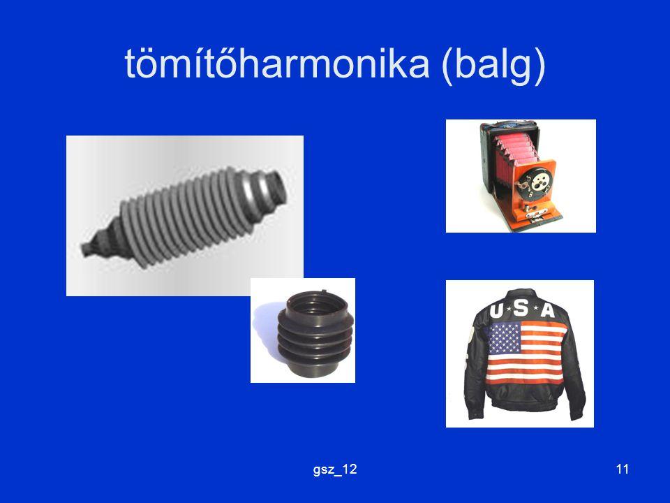 gsz_1211 tömítőharmonika (balg)