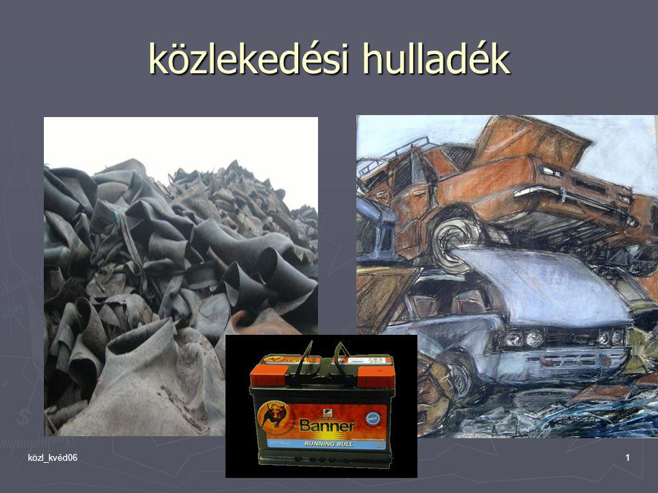közl_kvéd061 közlekedési hulladék