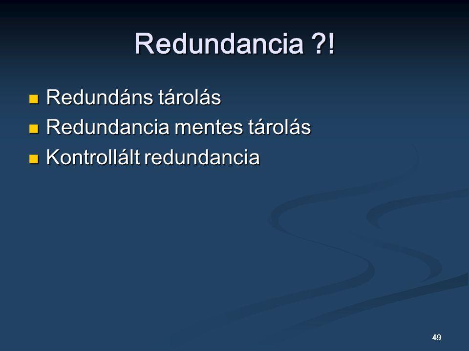 49 Redundancia ?.
