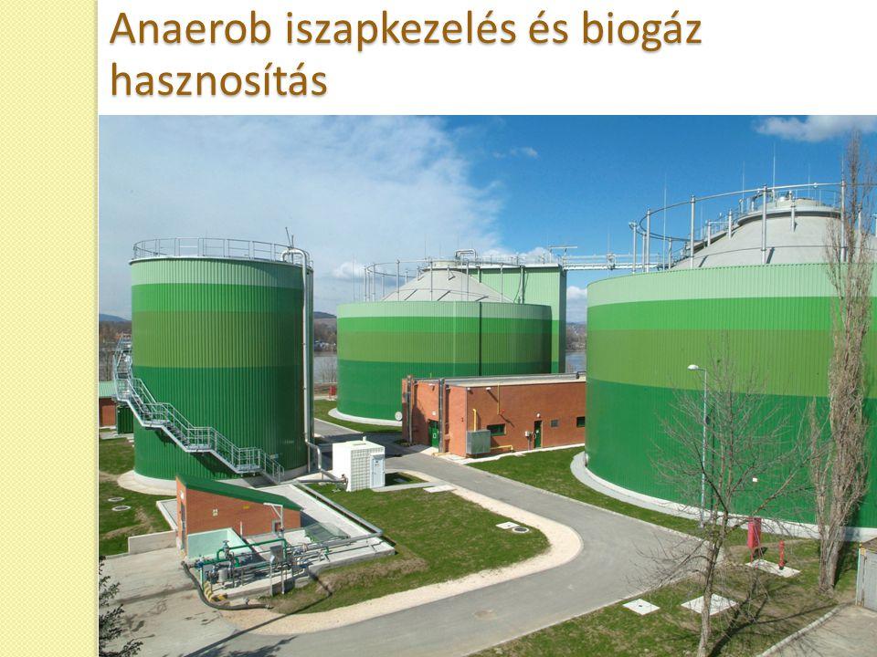 Anaerob iszapkezelés és biogáz hasznosítás