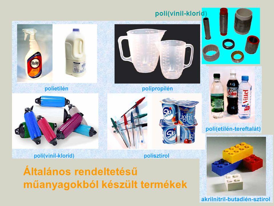 Általános rendeltetésű műanyagokból készült termékek poli(vinil-klorid)
