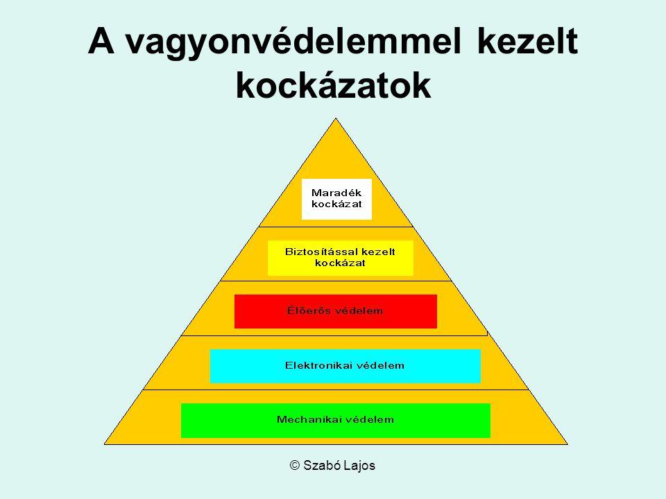 © Szabó Lajos A vagyonvédelemmel kezelt kockázatok