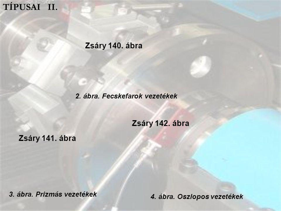 TÍPUSAI III. 5. ábra. Kombinált vezeték (esztergagépeken) 6. ábra. Hidrosztatikus vezeték