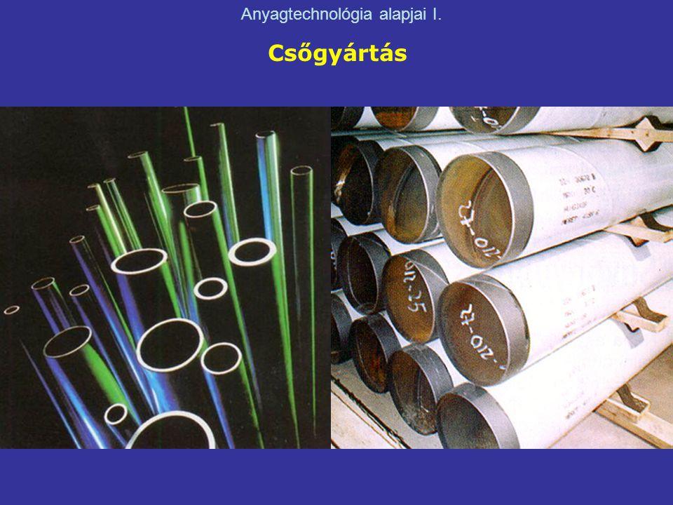 Csőgyártás Anyagtechnológia alapjai I.