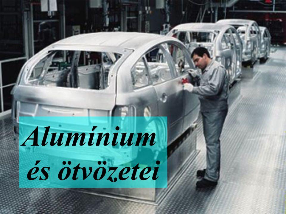 - mesterségesen öregíthető ötvözetek - önnemesedő ötvözetek - szilárdságnövekedés 550-600 MPa-ig - korróziós tulajdonságok romlanak - villamos vezetőképesség.