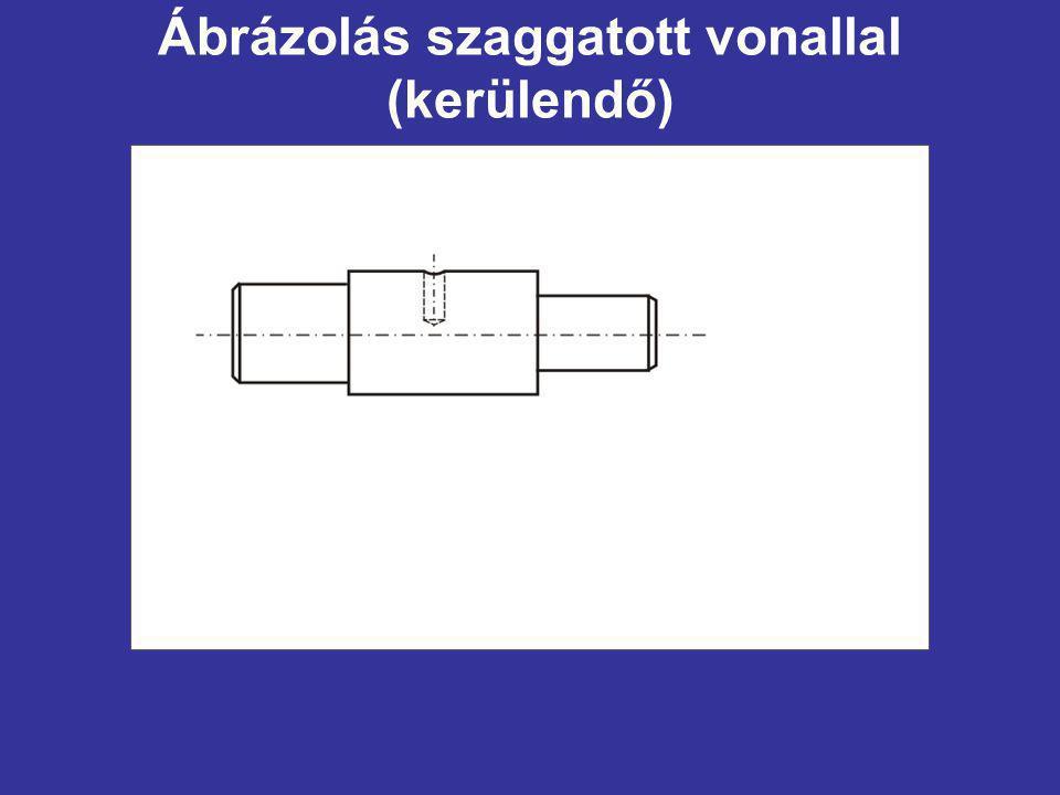 Ábrázolás szaggatott vonallal (kerülendő)