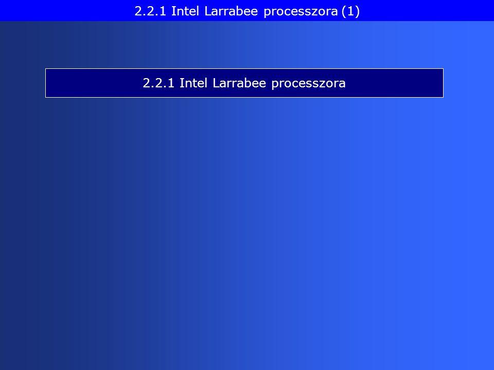 2.2.1 Intel Larrabee processzora 2.2.1 Intel Larrabee processzora (1)