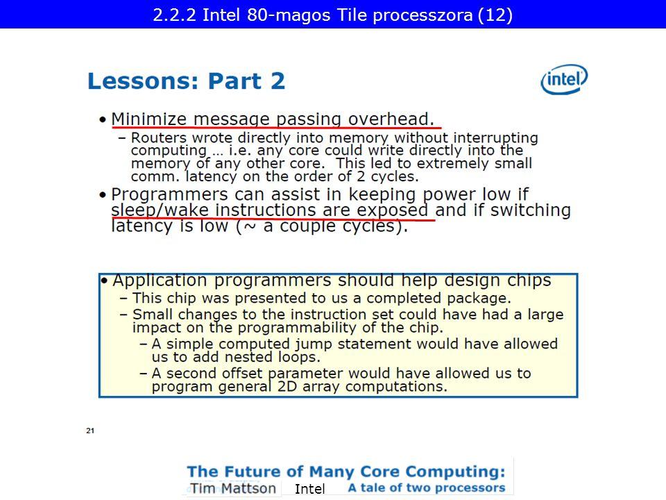 Intel 2.2.2 Intel 80-magos Tile processzora (12)