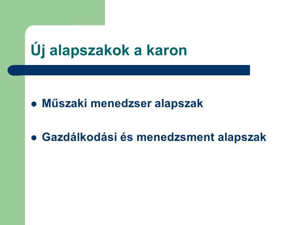 A gazdálkodási és menedzsment BSc alapszak tanterve Tantárgyak Heti összes Félév órakredit A/3 Kötelezően választható tárgyak461., 4.