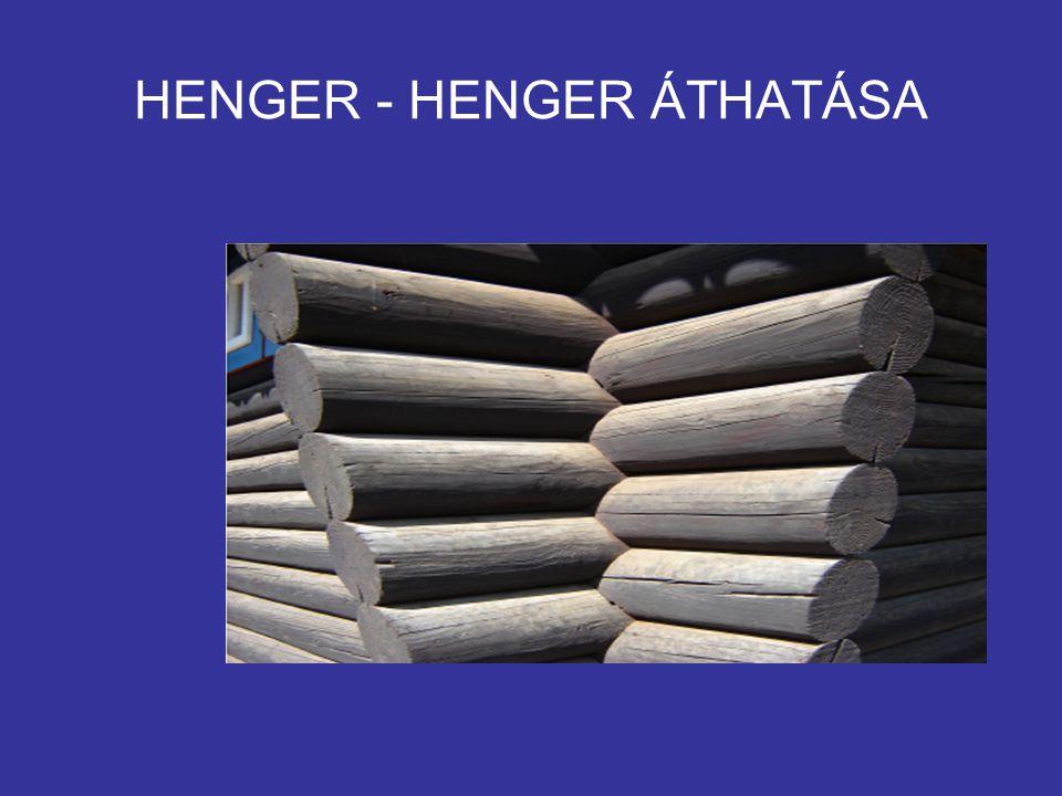 HENGER - HENGER ÁTHATÁSA
