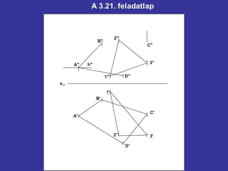 A 3.21. feladatlap