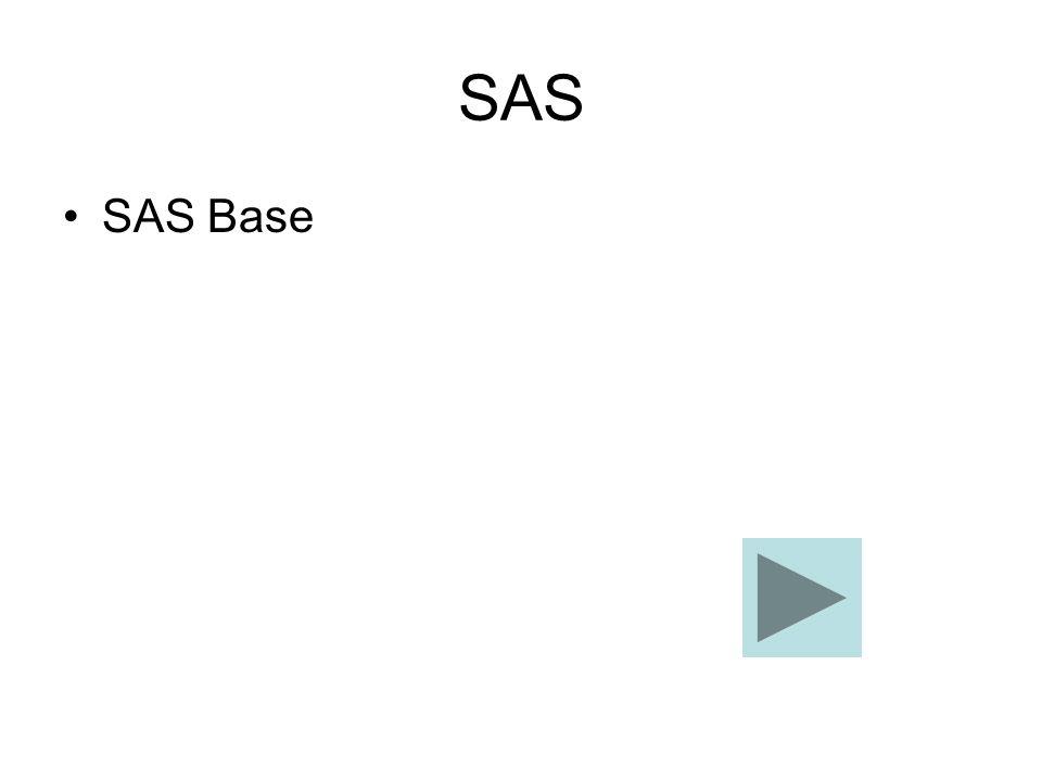 SAS SAS Base