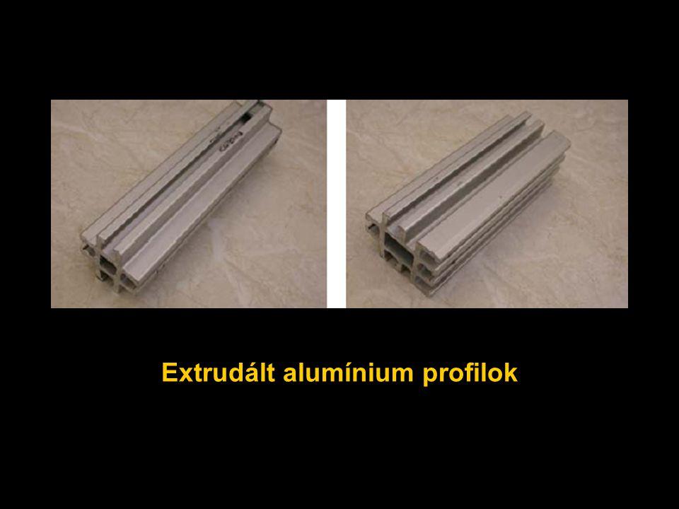 Extrudált alumínium profilok