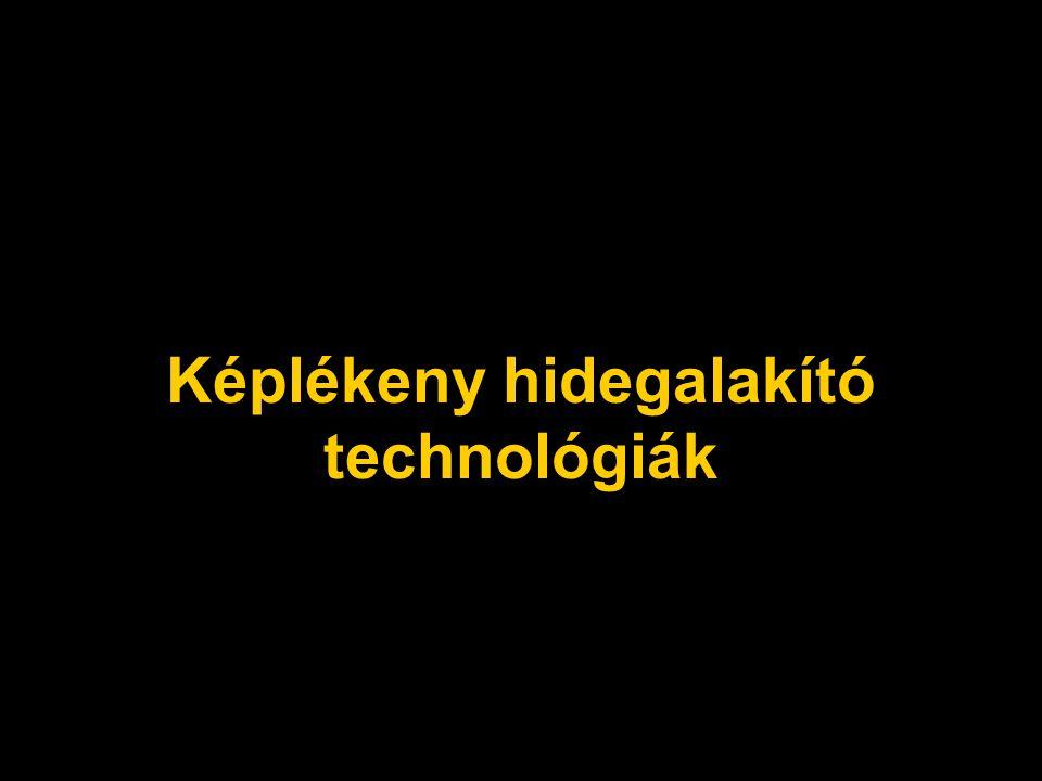 Képlékeny hidegalakító technológiák
