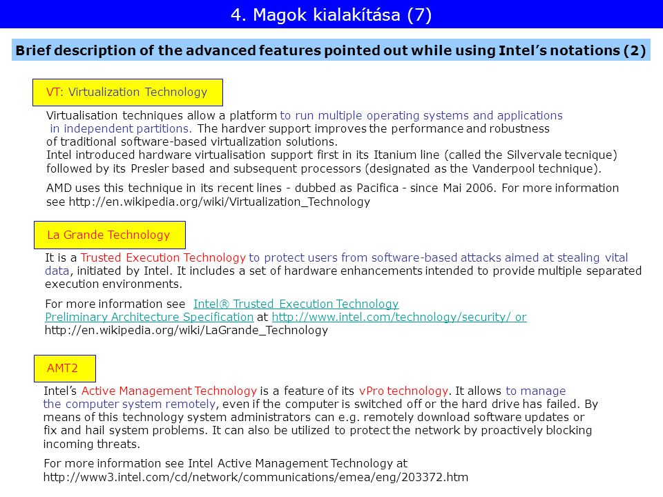 Virtualisation techniques allow a platform to run multiple operating systems and applications in independent partitions.