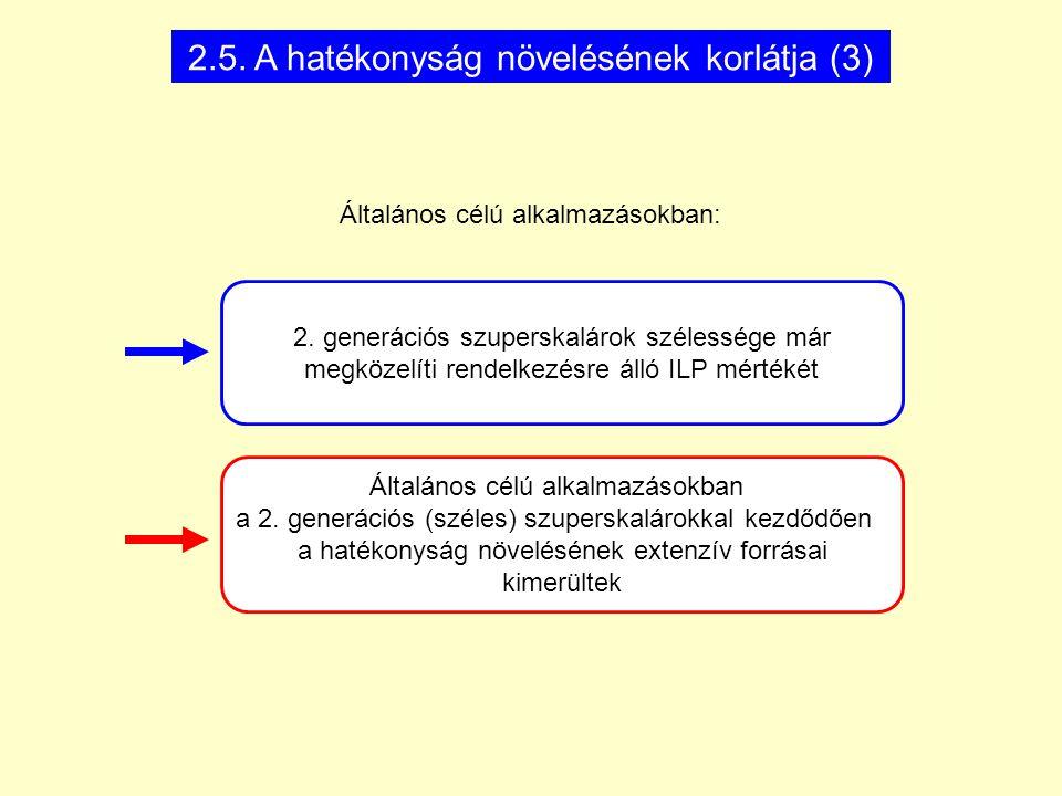 Általános célú alkalmazásokban a 2.