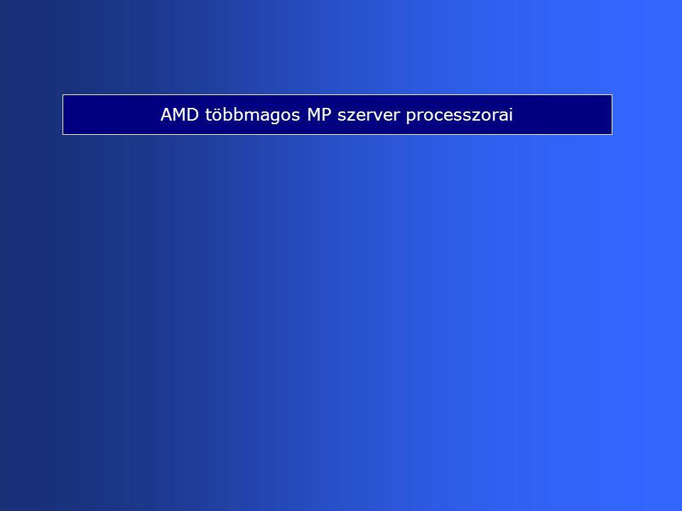 AMD többmagos MP szerver processzorai