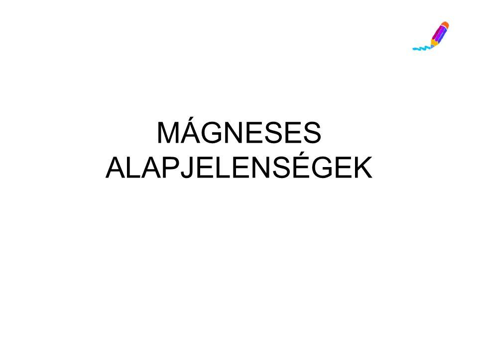 Megfigyelések 5.Lágyvasat közelítek hozzá tengelyre rögzítve –mágneses megosztás: A vasból készült tárgyak mágnes közelében időlegesen vagy tartósan is mágnessé válnak (permanens mágnes).
