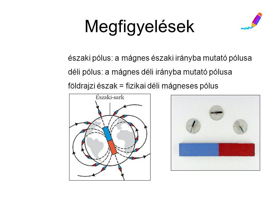 """Az elektromos töltések és a mágneses dipólusok Elektromos """"monopólus létezik, viszont a mágneses pólusok nem választhatók szét."""