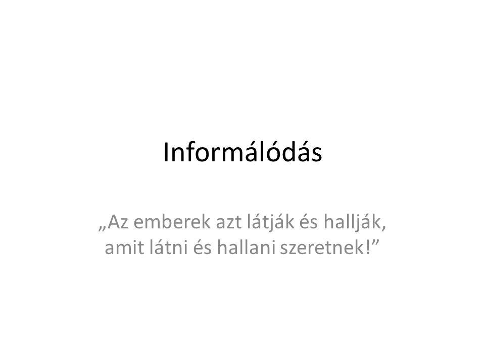 Igaz-e az információ?