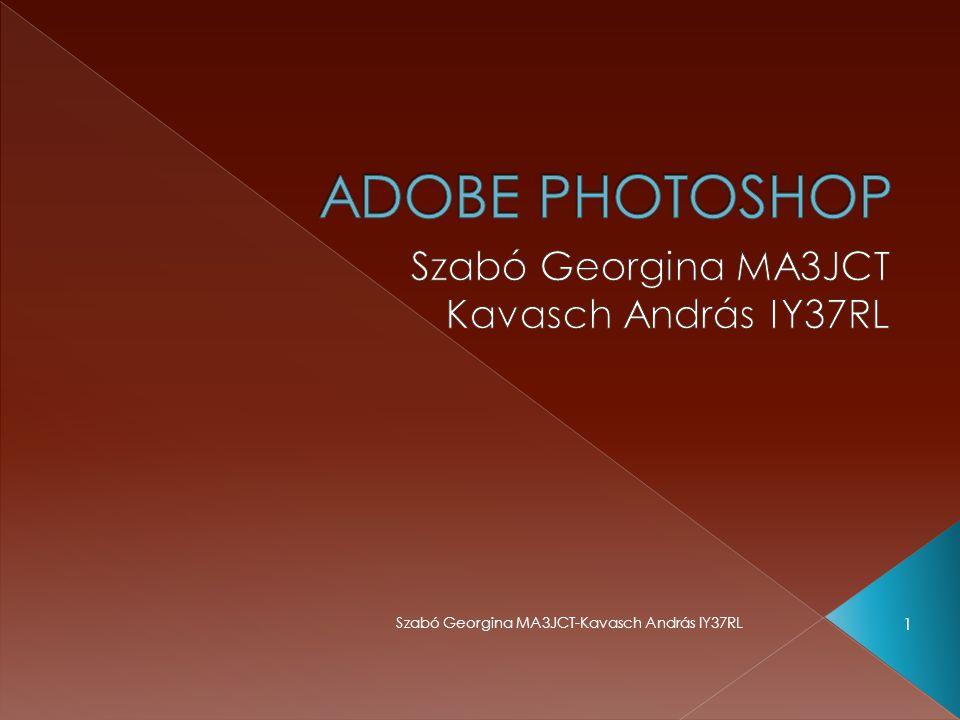 A photoshop programok letölthetők probaverzióban 30 napra  Megvásásrolható http://adobedealreg.force.com/PartnerSe arch?lang=hu Szabó Georgina MA3JCT-Kavasch András IY37RL 12