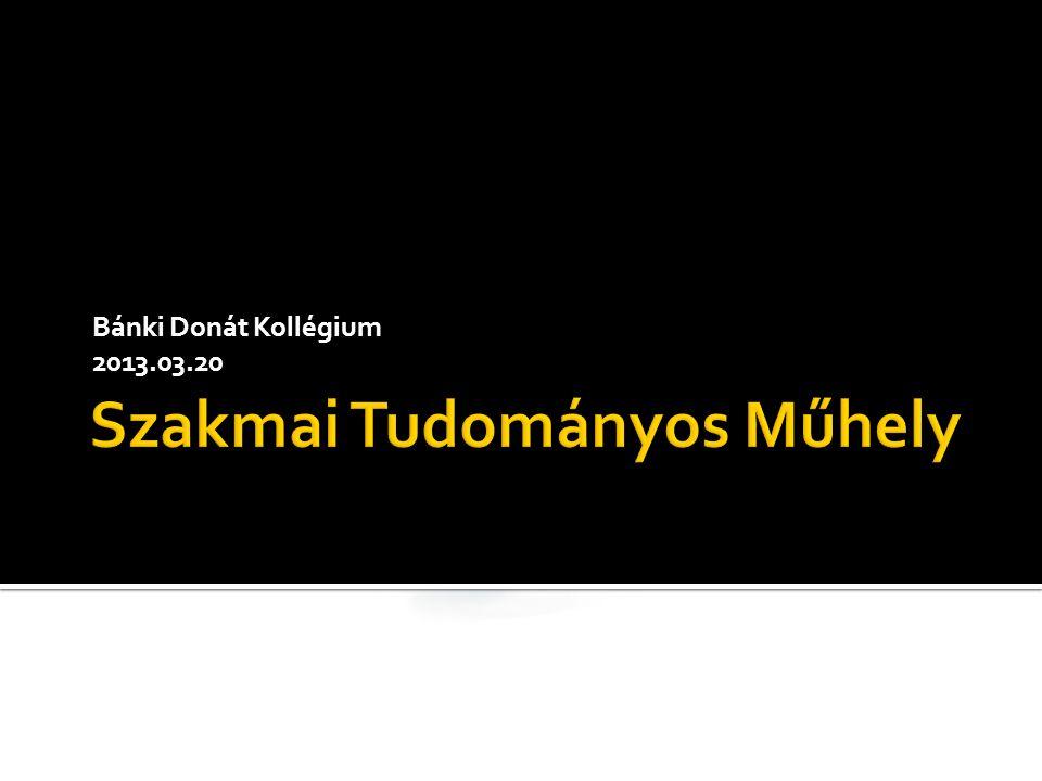 Bánki Donát Kollégium 2013.03.20