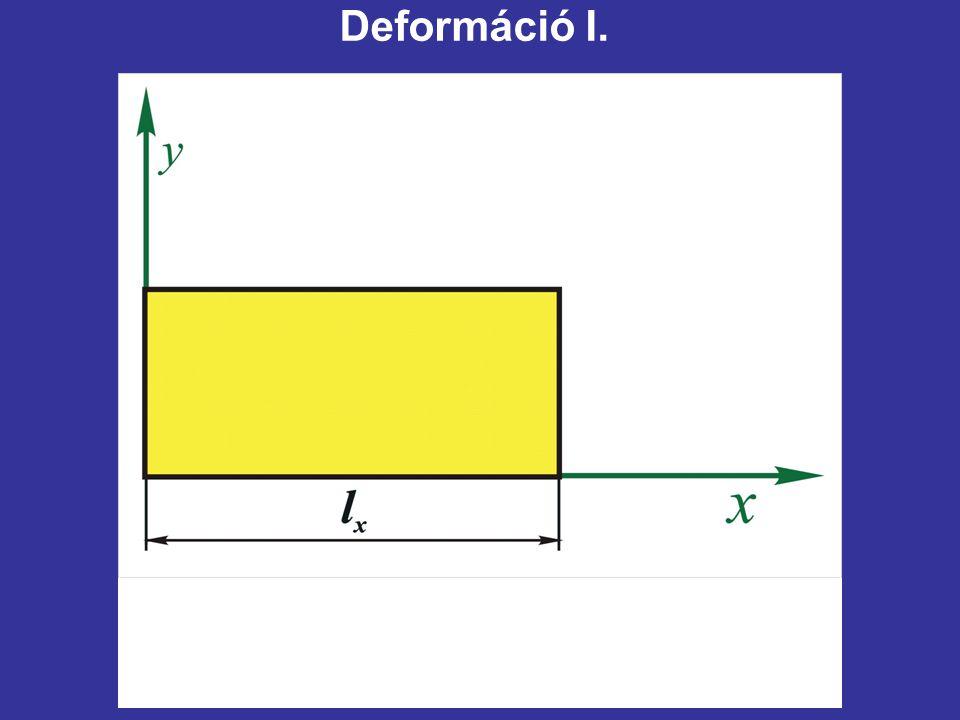 Deformáció I.