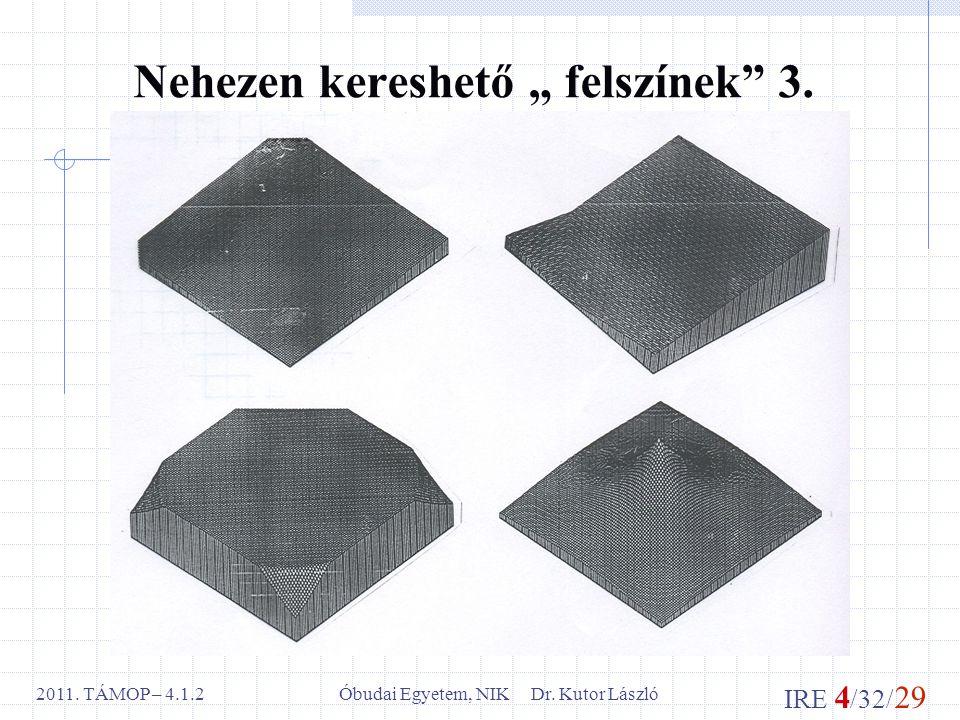 IRE 4 /32/ 29 Óbudai Egyetem, NIK Dr. Kutor László2011.