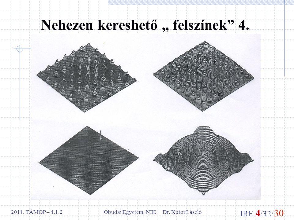 IRE 4 /32/ 30 Óbudai Egyetem, NIK Dr. Kutor László2011.