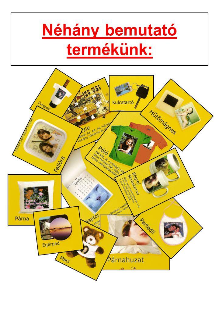 Néhány bemutató termékünk: