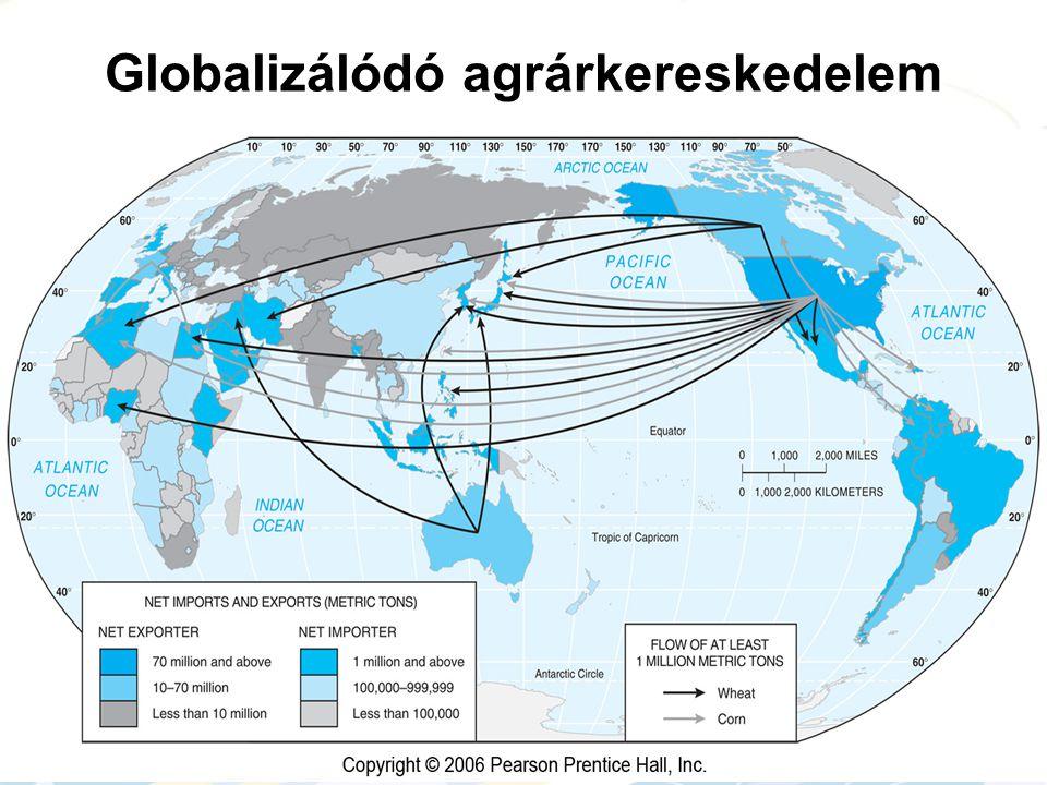 Globalizálódó agrárkereskedelem