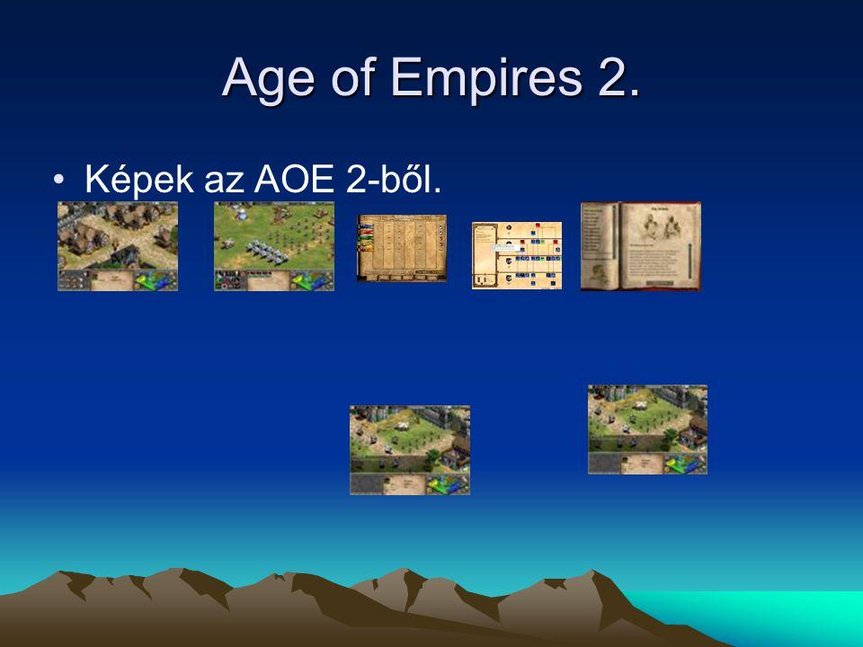 Age of Empires 2. Képek az AOE 2-ből.