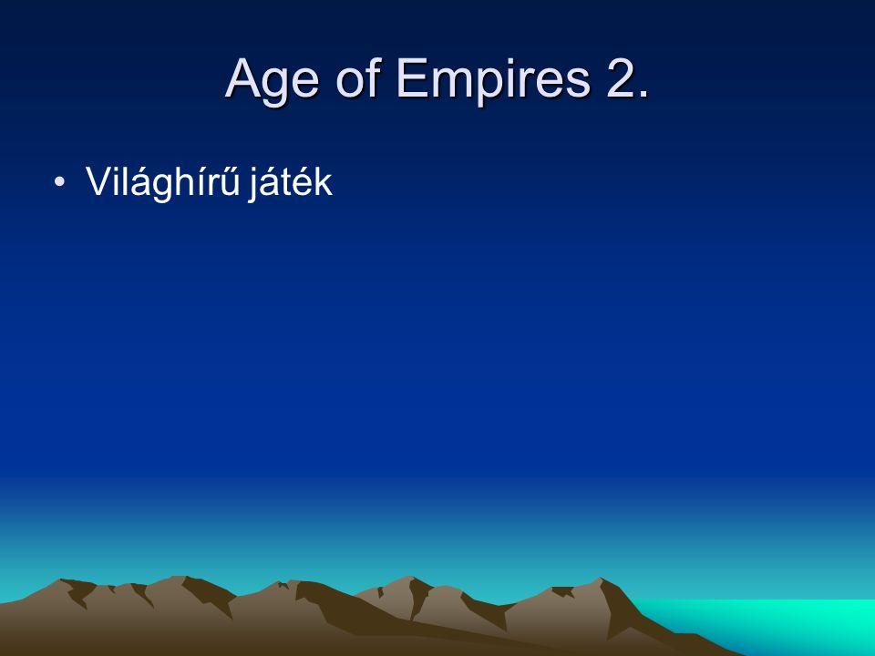 Age of Empires 2. Világhírű játék Magyarországon is sokan játszák