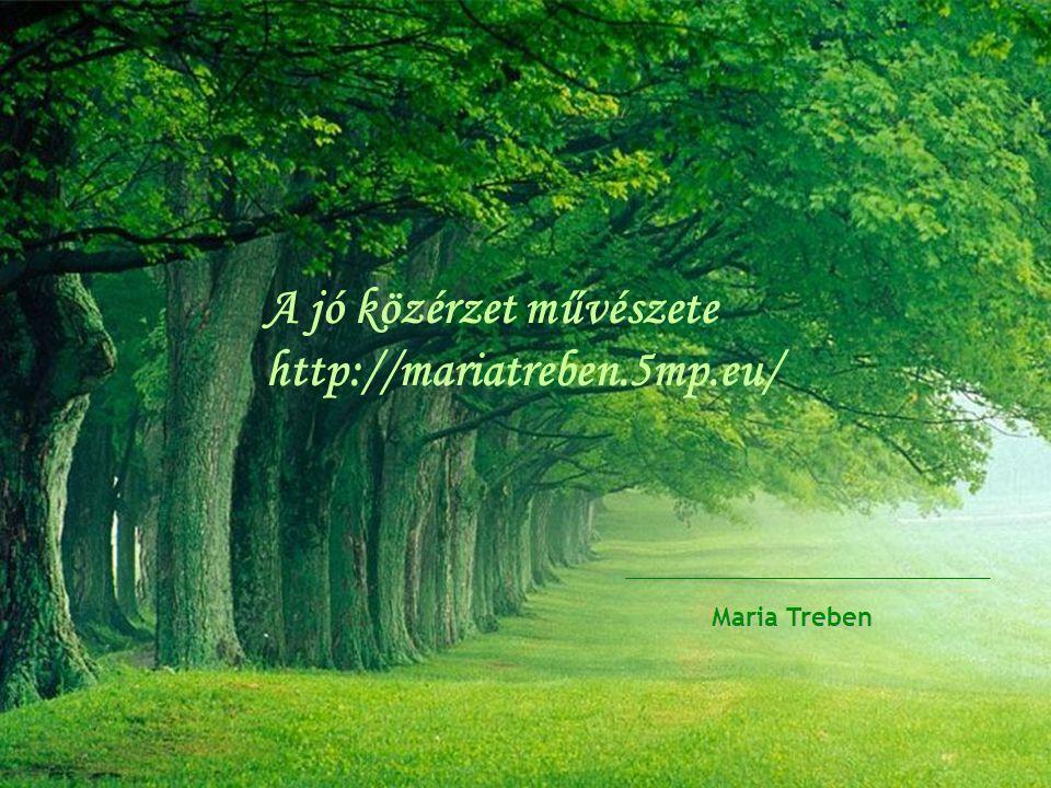 A jó közérzet művészete http://mariatreben.5mp.eu/ Maria Treben