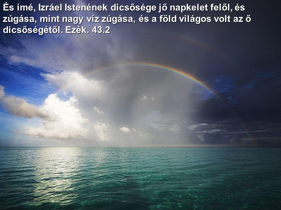 A nagy vizek zúgásainál, a tengernek felséges morajlásánál felségesebb az Úr a magasságban. Zsolt. 93.4
